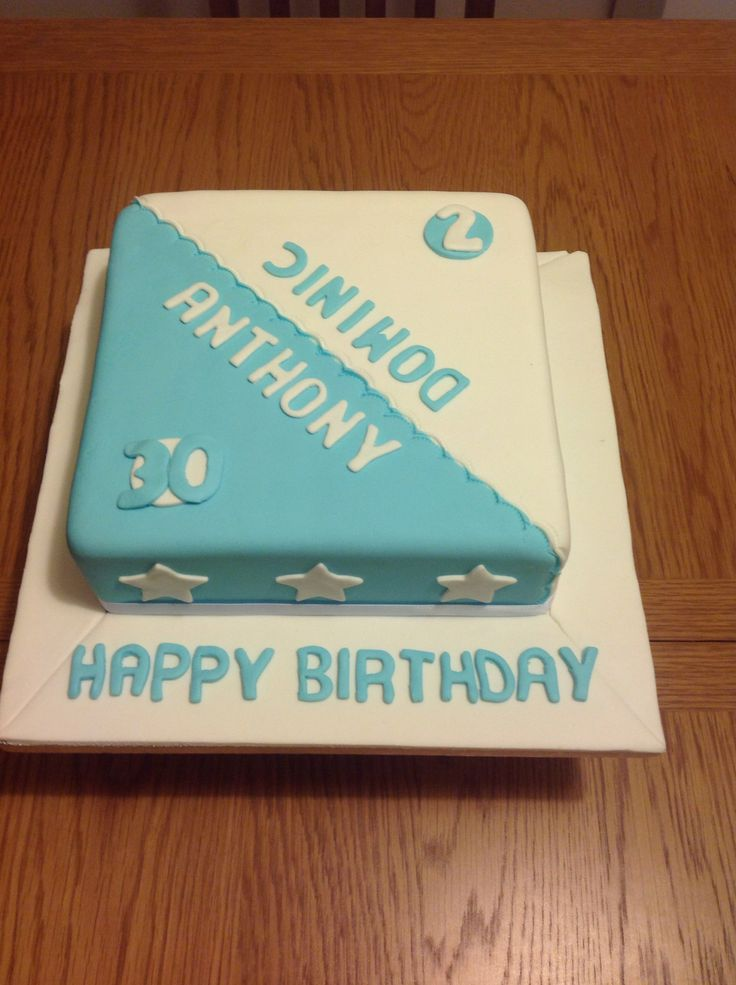 Father And Son Shared Birthday Cake Cakes Pinterest