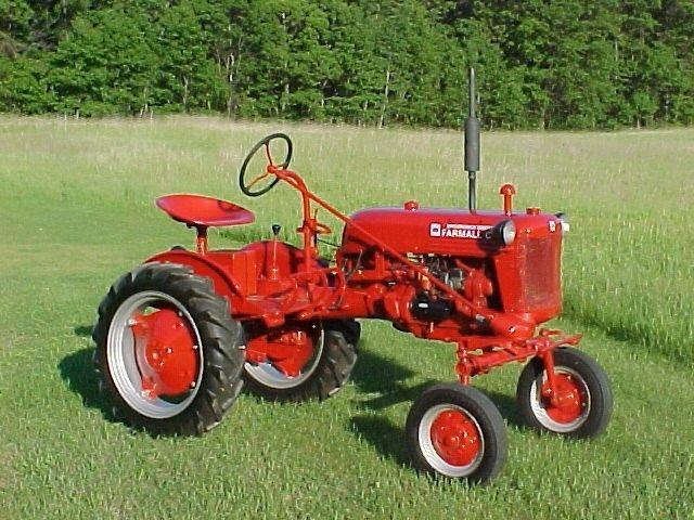 International Harvester Cub Tractor : International harvester farmall cub farm tractor more