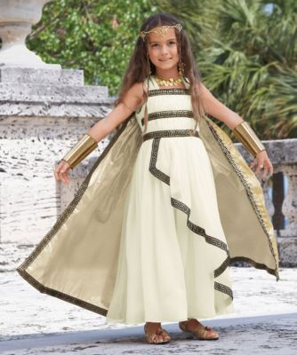 greek goddess girls costume For Alli to match her beautiful mother!