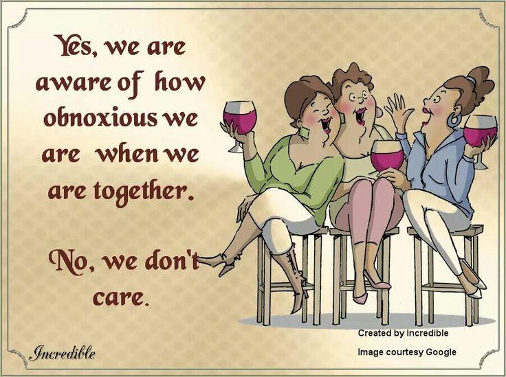 Me and my crazies! Perfect description