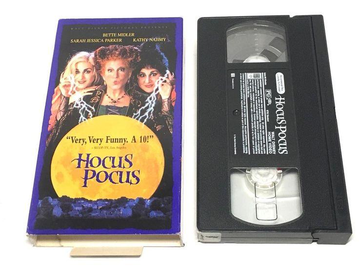 Hocus Pocus [VHS] [VHS Tape] [1993] #WaltDisneyVideo #DVDsVideos