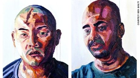 For several days after receiving a letter from the Indonesian president rejecting his plea for clemency, Myuran Sukumaran couldn't paint.