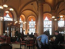 Wienn - Café Central, the place where  Sigmund Freud, Adolf Hitler, Vladimir Lenin and Leon Trotsky ( but others too ) used to drink their coffees