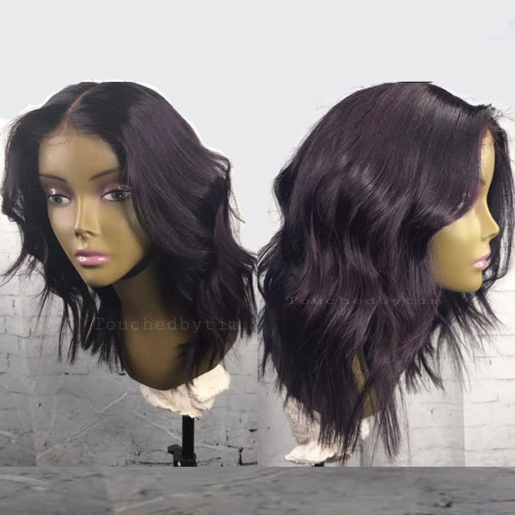 Eggplant purple Casual Wavy Full Lace Wigs - Touchedbytim012 [touchedbytim012] - $324.99 : Full Lace Wigs & Lace Front Wigs | RPGSHOW - Bold & Sexy Hair