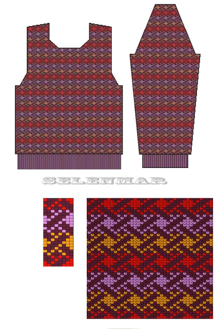 392 besten color knitting (jacquard, fair isle, mosaic etc) Bilder ...