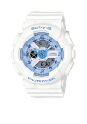 G-Shock Women's Women's White Ana-Digi Watch - White - One Size