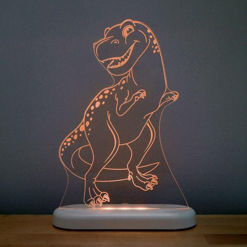 Roooaarrr... goes the T-Rex, scaring away all the monsters... #alokasleepylight #childrennightlights