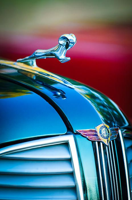 1937 Dodge Hood Ornament - Emblem - Jill Reger - Photographic prints for sale