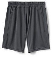 Lands' End Men's Gym Shorts-Light Coal Heather