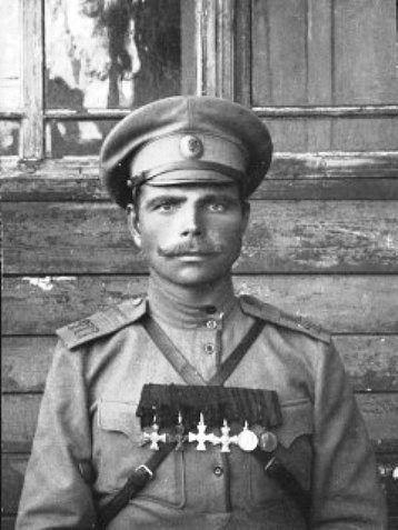 Федорчук Николай Филиппович. Подпрапорщик 277-го Переяславского полка