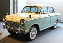 The Japanese Datsun 'Bluebird 310' which was assembled and sold by Saenara Motors in 1962-1963.  Saenara Motors was assumed by Shinjin and this car  continued to be assembled in Bupyeong-gu, Incheon as the Shinjin Shinsungho .  318 Shinsungho cars were produced between 1963 and 1966.