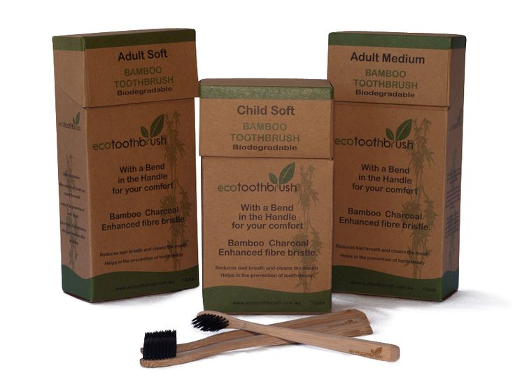 SALE A$3.00 Bamboo Charcoal Toothbrush