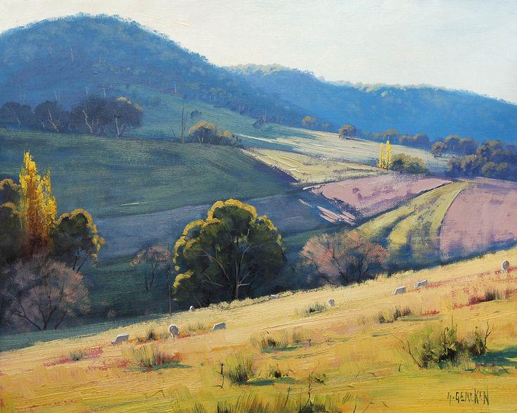 Afternoon Light Tarana, Australia by artsaus on deviantART