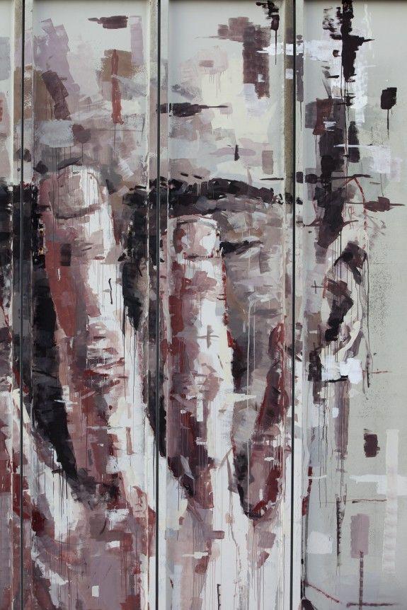 Arte: Borondo ad Alterazioni 2013 - ziguline