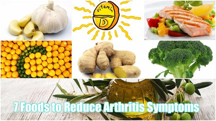 Top 7 Foods to Reduce Arthritis Symptoms