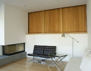 Indoor Divider with Adjustable Blinds