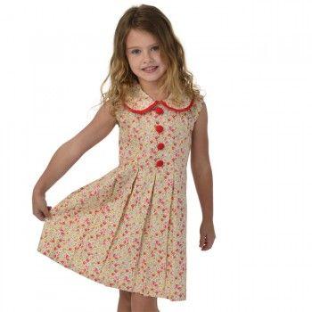 Gatsby Golden Wildflower Dress RRP $44.95 - Oobi.com.au