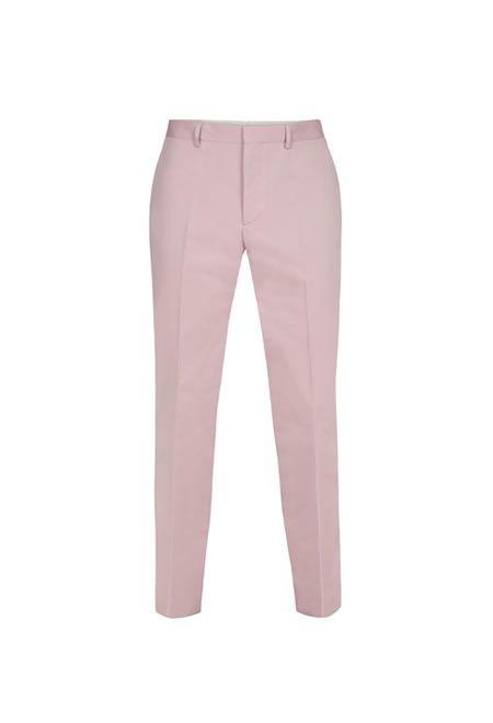 PAUL SMITH Leg trousers £149.00  #PAUL #SMITH #TROUSERS #COTTON