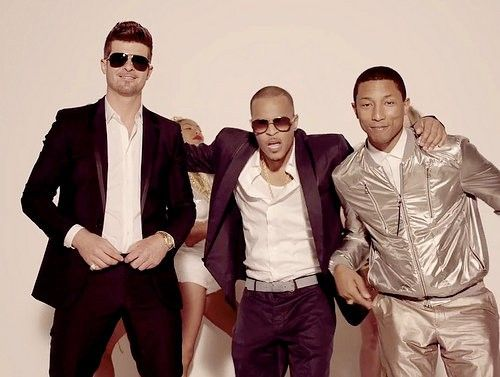 Video Of The Day Blurred Lines Robin Thicke Ft. T.I., & Pharell [video]