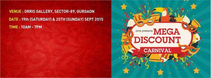 Orris Presents Mega Discount Carnival