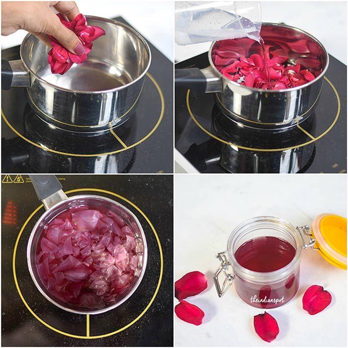 How To Make Rose Water At Home Rose Water Rose Water Diy Rose Water For Skin