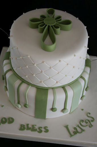 Baptism Cake 2 by creative and delicious sweets (Sandy), via Flickr