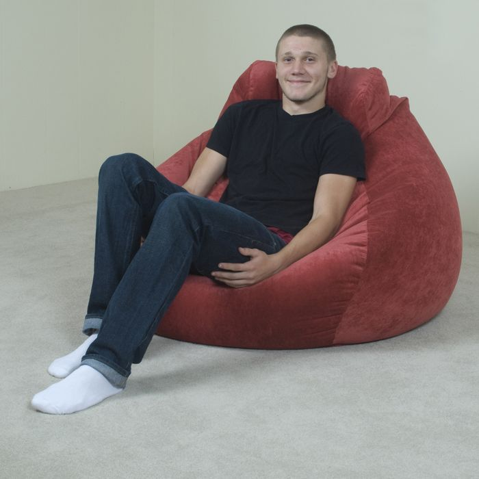 Furniture Large Bean Bag Chairs For A Interesting Home Remodeling Or Renovation Of Your 4