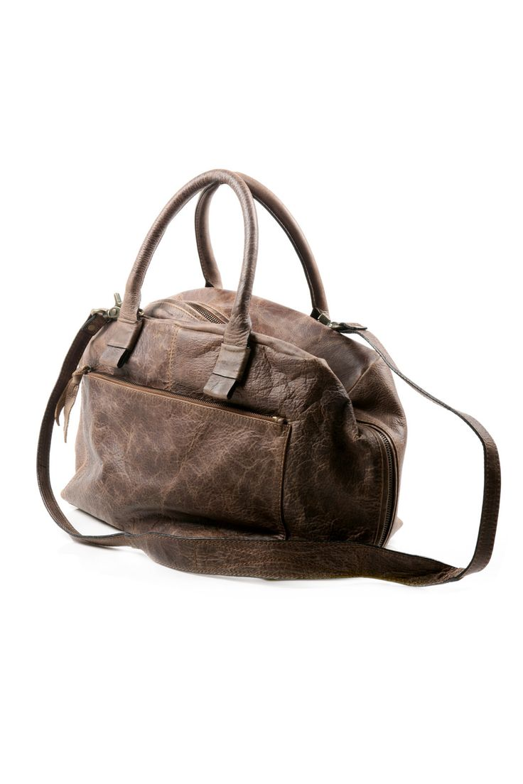 Crunch Leather Bag