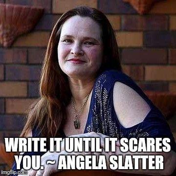 Angela Slatter- scare yourself