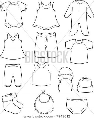 Baby Clothes Templates For Girls Children S Clothing