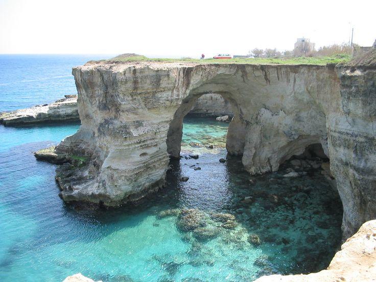 Coast of Sant'Andrea, Salento, Italy