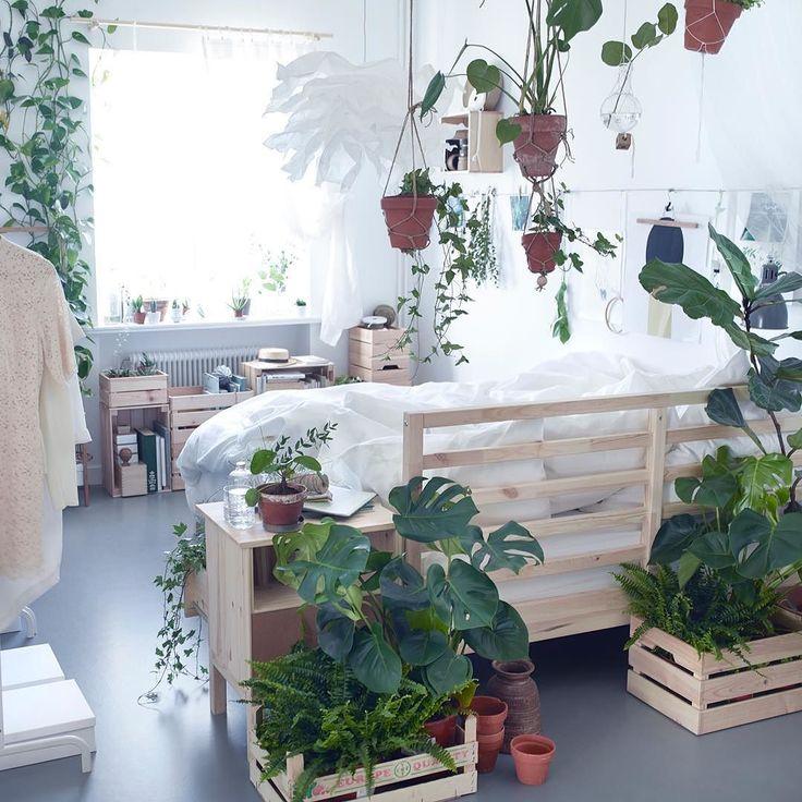 Hvorfor ikke la soverommet bli en oase for for både deg og plantene dine? #TARVA…