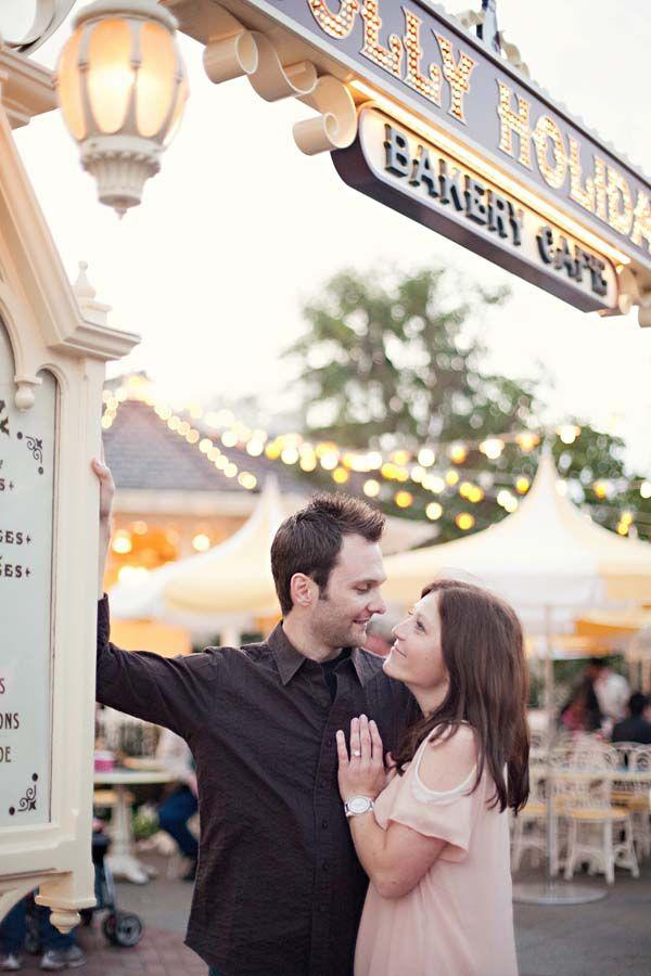 disney proposals | Disneyland Proposal and Engagement Photos: Laura + Chris | Magical Day ...
