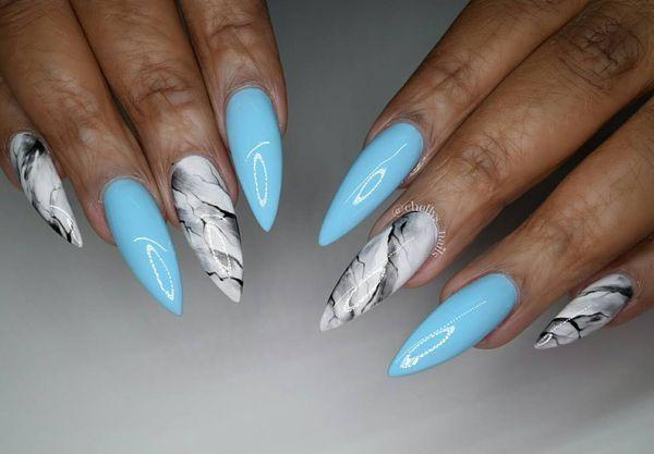Niedliche blaue Nail Art Designs für alle Gelegenheiten – Nails Design … – Nagel – #Alle #Art #blaue #Design #Designs