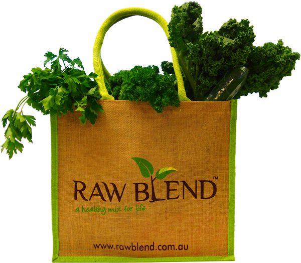 Raw Blend - Raw Blend Enviro Bag, $9.95 (http://shop.rawblend.com.au/raw-blend-enviro-bag/)