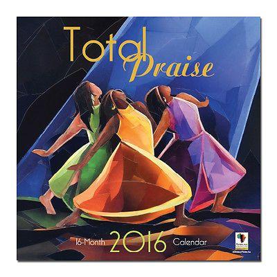 Total Praise Calendar 2016 African American Calendar