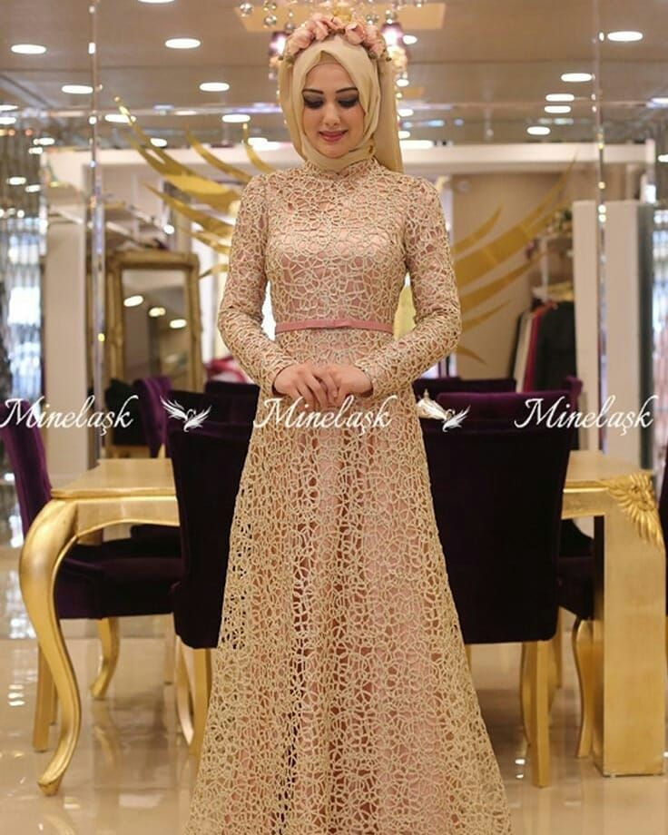 Inspirasi Gaun Pengantin Muslimah Gaunpenganti Muslimah