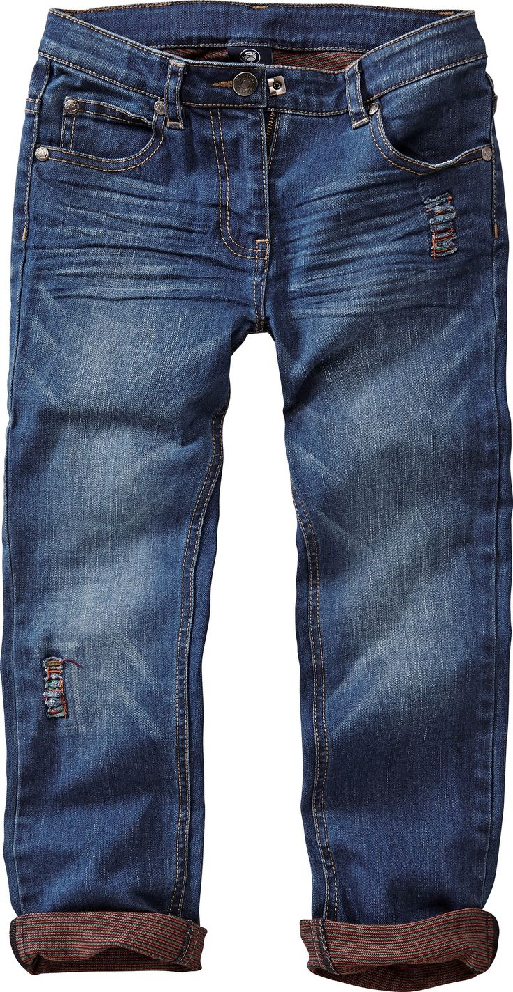 Supercoole Destroyed-Jeans mit Crash-Effekten
