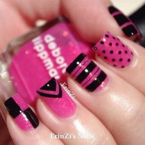 Learn more about 10 Pink Nail Designs for Girls