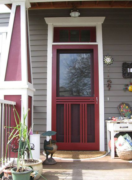 Garden Woodworks | Custom Screen Door Examples