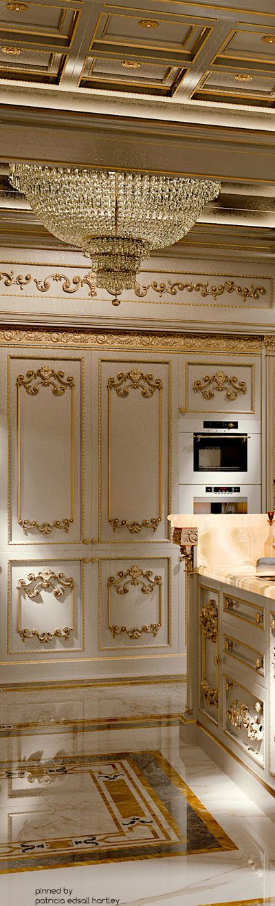 ~ [Eng] Ivory Kitchen Royal ~ | Patricia Edsall Hartley | modenesegastone.com