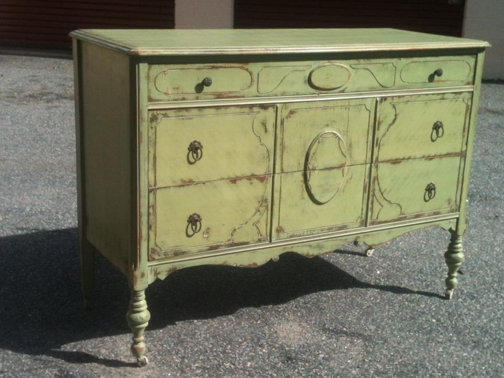 green painted furniture. lucketts green milk paint painted furniture