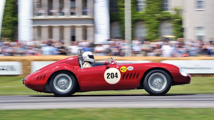 Photo gallery capturing the great Maserati cars at the Goodwood Festival of Speed 2014 as part of the Italian brand's 100 year celebrations.