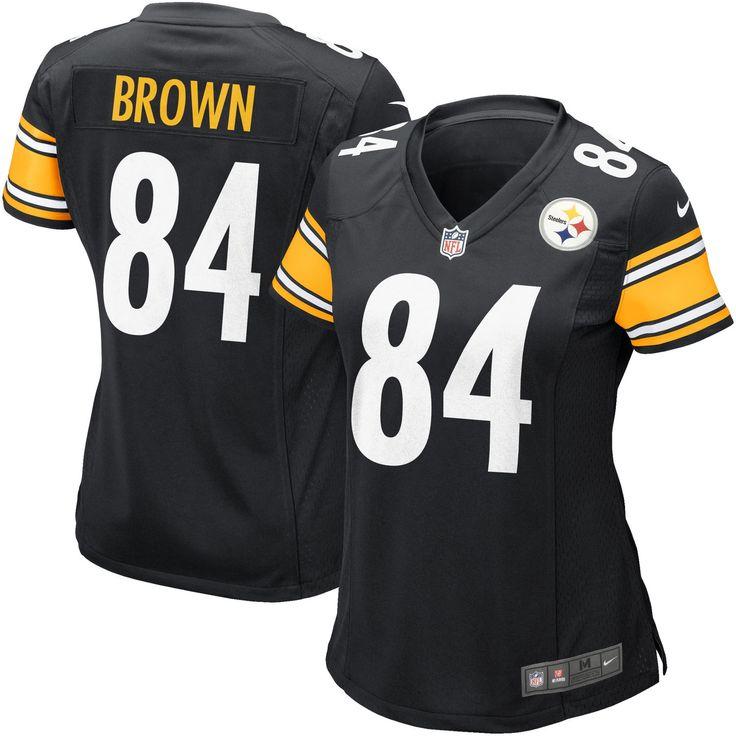 Antonio Brown Pittsburgh Steelers Nike Women's Game Jersey