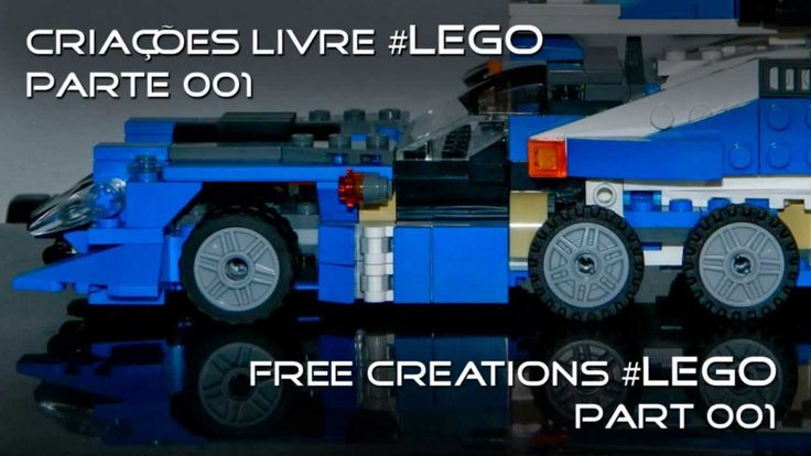 LEGO - Criações Livre - LEGO Free Creations #lego #brinquedos #miniaturas #play #playing #creating #creator #creations #criança #children #criança #shop #shopping #mall #store #fail #stopmotion #funny #animation #bricks #legos #legocity #lego creator #playmobil #ninjago #lego minecraft #legozoo