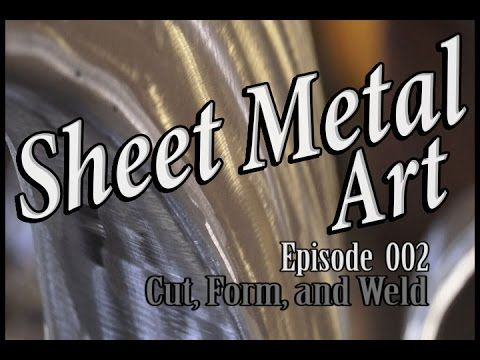 Sheet Metal Art For Beginners, Ep 1 Make a Break - YouTube