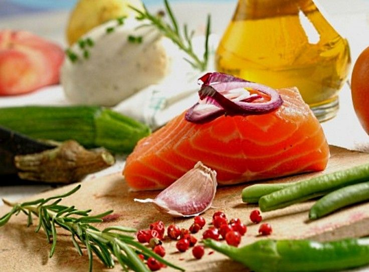 Dishes with fish, herbs, vegetables and natural spices and flavors are a good way to used Mediterranean food ingredients in your diet
