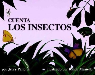 Cuenta los insectos, comienza con la primera página mostrando el número cero. Como sigue el libro sigue subiendo el número que se muestra uno por uno. Junto con el número se encuentra una ilustración que demuestra el número escrito.