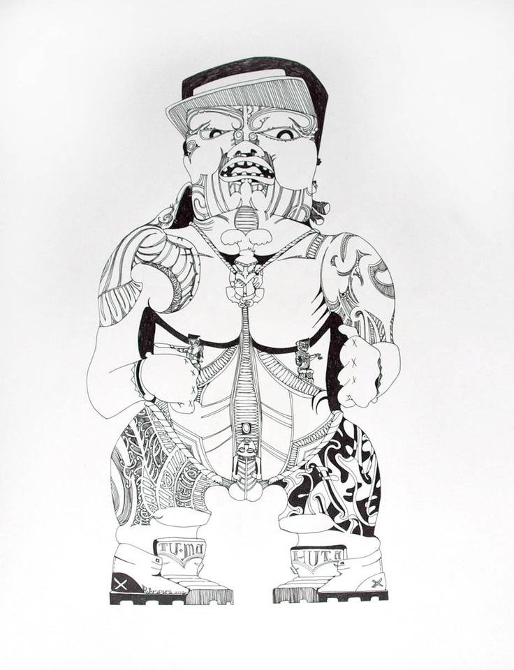 Reweti Arapere Online Portfolio: Drawings