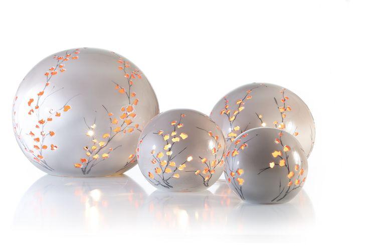 Hand gemaakte keramische lampen in 4 verschillende modellen